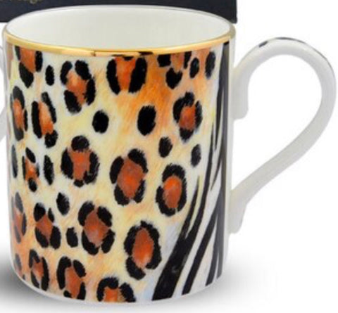 Halcyon Days Mixed Animal Print Mug