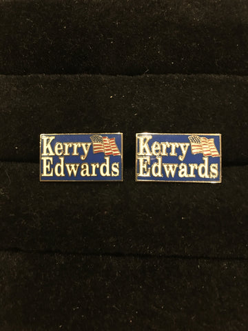 Novelty Cufflinks | Kerry Edwards Cufflinks | Sterling and Burke | Made in USA