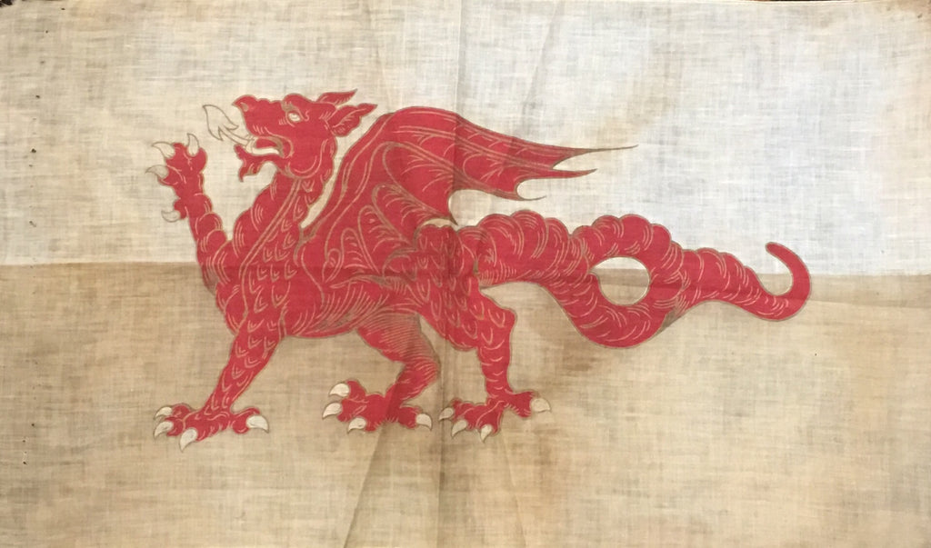 The Red Dragon | Vintage Flag | 28 by 16.5 Inches-Vintage Flag-Sterling-and-Burke
