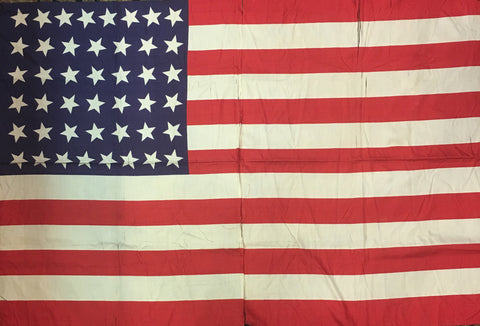 Vintage American Flag | 44 Star US Flag | 47 by 32 Inches