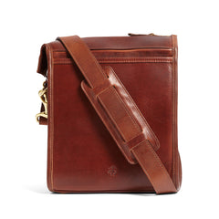 Correspondent Brief Bag, American Heritage Leather-Messenger Bag-Sterling-and-Burke