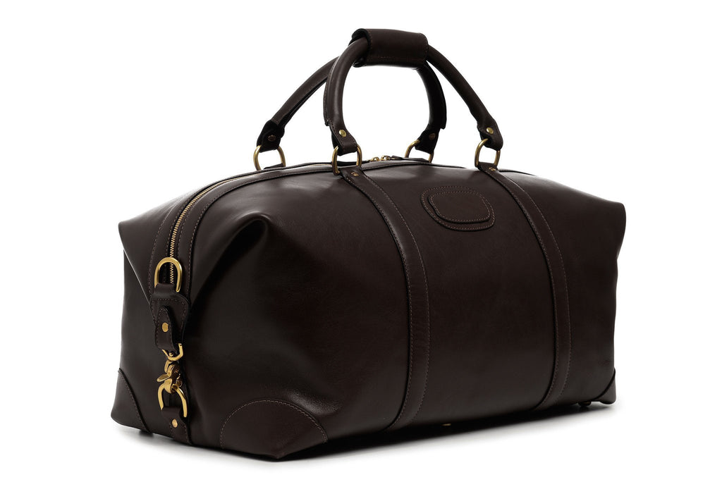 Twain Lux Leather Duffle, 22 Inch-Duffle-Sterling-and-Burke