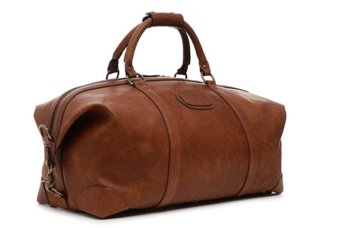 Twain Leather Duffle, 22 Inch