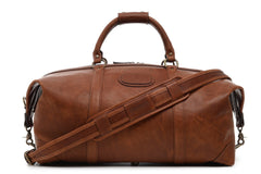 Twain Leather Duffle, 22 Inch-Duffle-Sterling-and-Burke