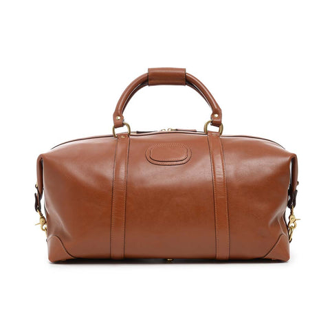 Twain Lux Leather Duffle, 22 Inch
