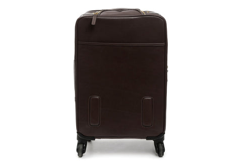 Emerson Lux Leather Wheeled Carry On-Wheeled Luggage-Sterling-and-Burke
