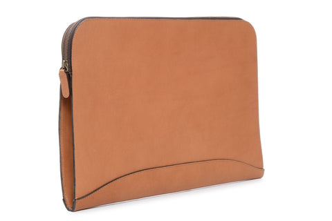 Grant Leather Zip Portfolio