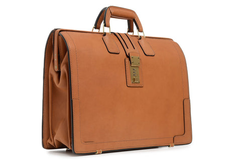 Churchill Classic Top Frame Briefcase