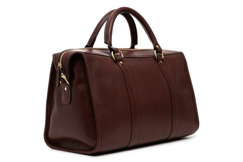 Jefferson Lux Leather Duffle-Duffle-Sterling-and-Burke