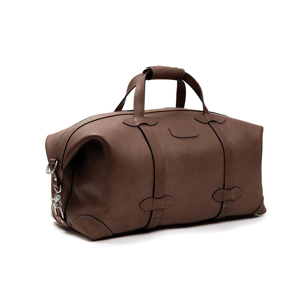 Centennial Taft Leather Duffle Bag-Duffle-Sterling-and-Burke