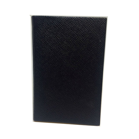 Crossgrain Leather Notebook, 6 by 4 Inches with Lined Pages