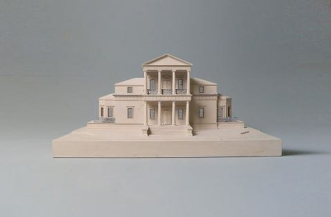 Limited Edition The First Monticello Sculpture | Custom Monticello Plaster Model | Extraordinary Quality and Detail | Made in England | Timothy Richards