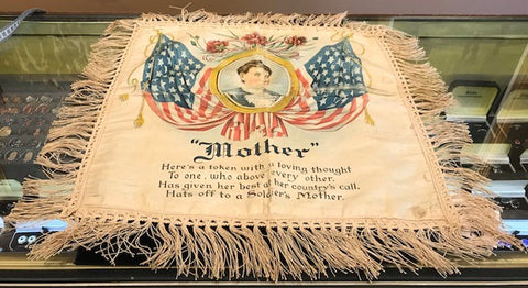 "Mother | Vintage Pillow Cover | 22"" x 21"""