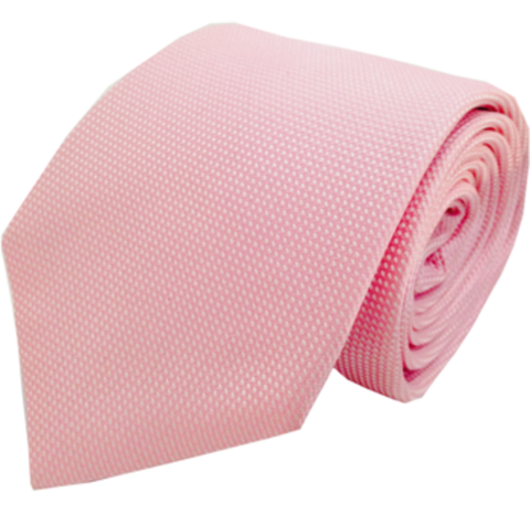 """The Mullet"" Silk Tie in Pink"