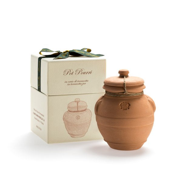 Santa Maria Novella Pot Pourri in Terracotta Jar, 70g-Room Fragrances-Sterling-and-Burke