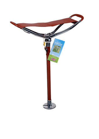Seat Stick | Shot Over Seat Stick / Walking Stick | Fixed Height Field Stick | Seat Stick | Made in England | Sterling and Burke