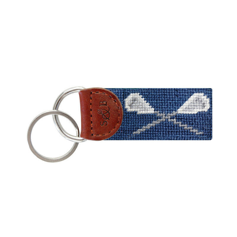Lacrosse Key Fob-Key Fob-Sterling-and-Burke