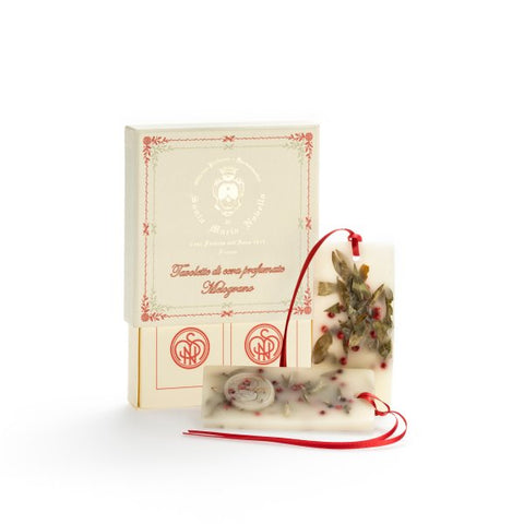Santa Maria Novella Melograno Scented Wax Tablets, Box of 2