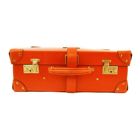 All Leather Trunk Suitcase, 18 Inch, BESPOKE