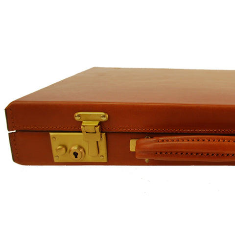 Sterling & Burke 3 Inch Pinched Corner Attache Case, BESPOKE-Business Bags-Sterling-and-Burke