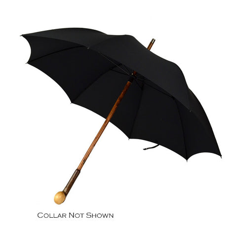 Hazel Knob Gent's Umbrella, BESPOKE-Gent's Umbrella-Sterling-and-Burke