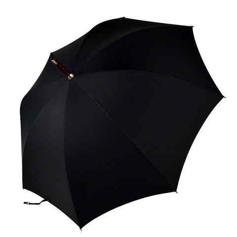 Oak Gent's Umbrella | Solid Shaft | Finest Quality | Hand Made in England | Sterling and Burke-Gent's Umbrella-Sterling-and-Burke