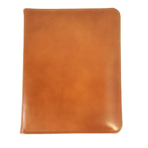 Hand Stitched Pad Cover, Tan-Pad Cover-Sterling-and-Burke