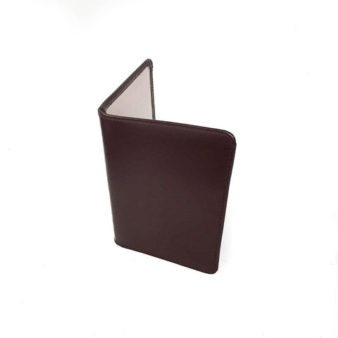 Passport Cover | Bridle Leather and Suede Lining | Red, Black, Brown, Burgundy| Made in England | Sterling and Burke-Passport Case-Sterling-and-Burke
