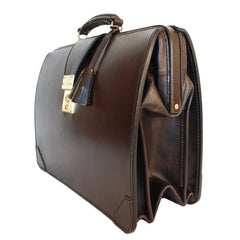 Sterling & Burke Top Frame Briefcase, BESPOKE-Top Frame-Sterling-and-Burke