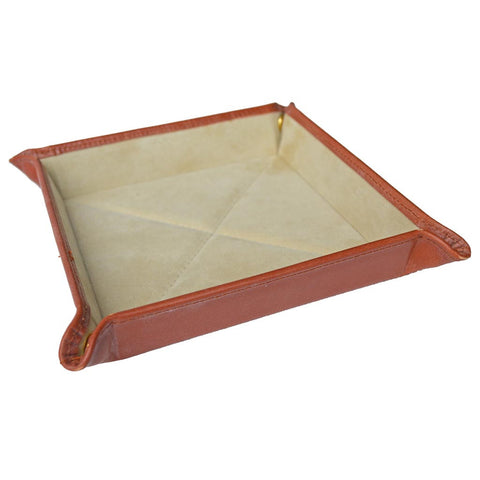 Travel Tray | Dresser Valet | English Bridle Leather | Tan, Brown, Black | Sterling and Burke-Travel Tray-Sterling-and-Burke