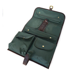 Military Wet Pack | Toiletry Kit | Dopp Kit | English Bridle | Sterling and Burke-Military Wet Pack-Sterling-and-Burke
