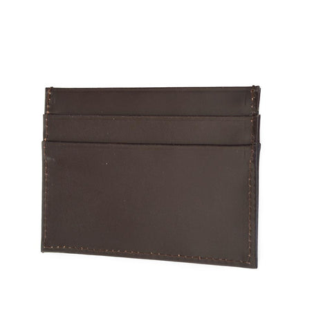 Flat Business Card Case | Card Wallet | Tan, Brown, Black | English Leather