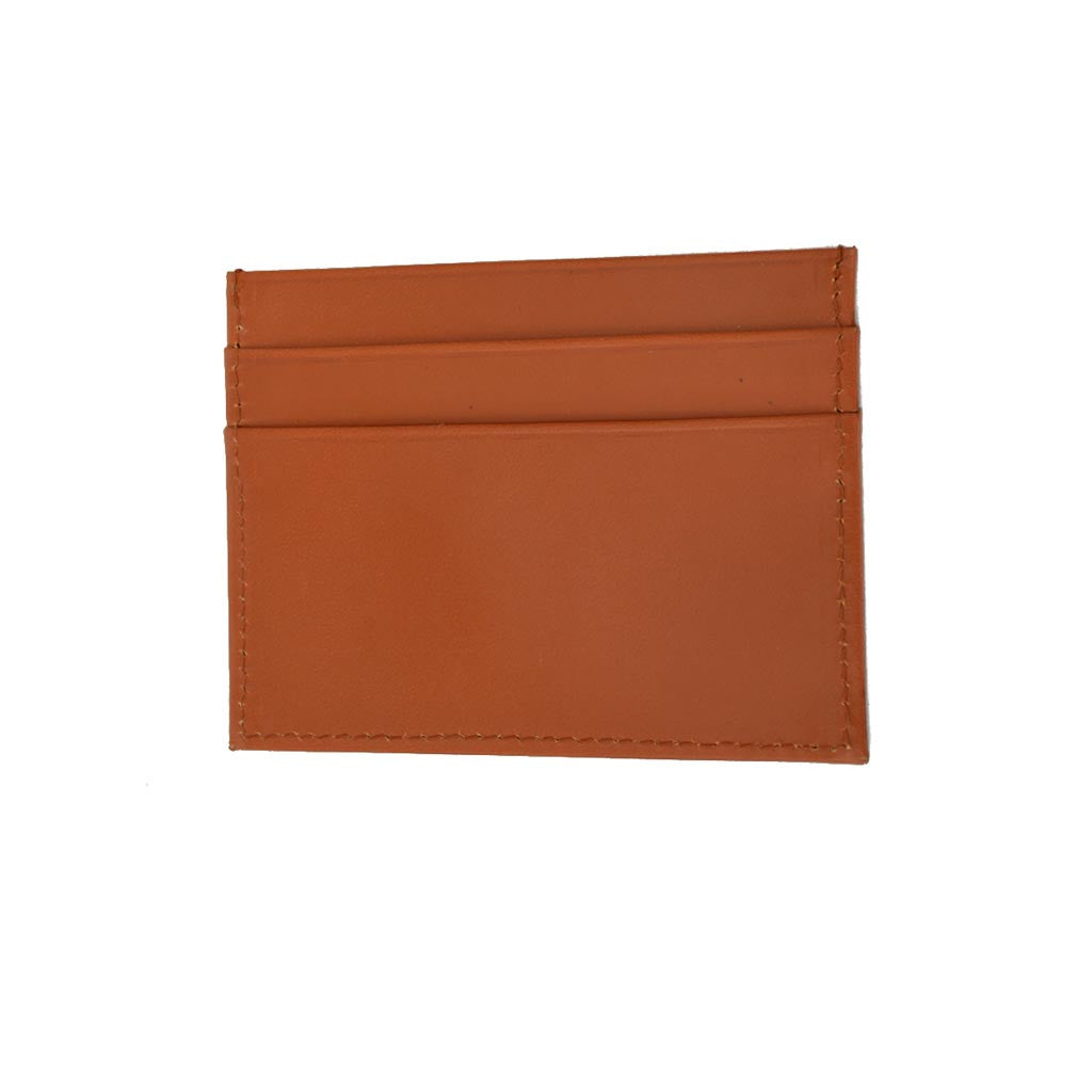 Flat Business Card Case | Card Wallet | Tan, Brown, Black | English Leather-Business Card Case-Sterling-and-Burke