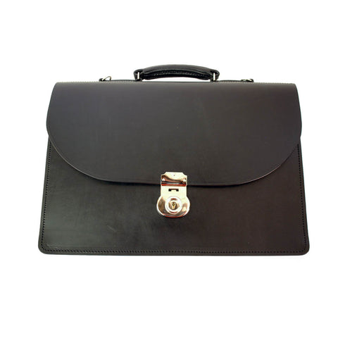 Triple Gusset No Straps, BESPOKE-Document Case-Sterling-and-Burke