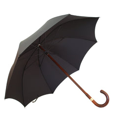 Polished Cherry Gent's Umbrella-Gent's Umbrella-Sterling-and-Burke