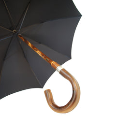 Sterling & Burke Polished Chestnut Gent's Umbrella, BESPOKE-Gent's Umbrella-Sterling-and-Burke