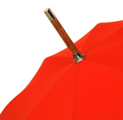 Ladies Hickory Umbrella, Red Canopy-Ladies Umbrella-Sterling-and-Burke