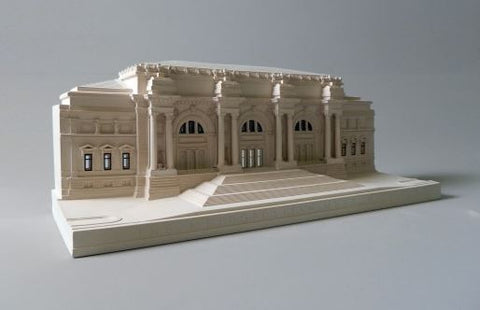 Metropolitan Museum Sculpture | Custom Metropolitan Museum Plaster Model | Extraordinary Quality and Detail | Made in England | Timothy Richards-Desk Accessory-Sterling-and-Burke