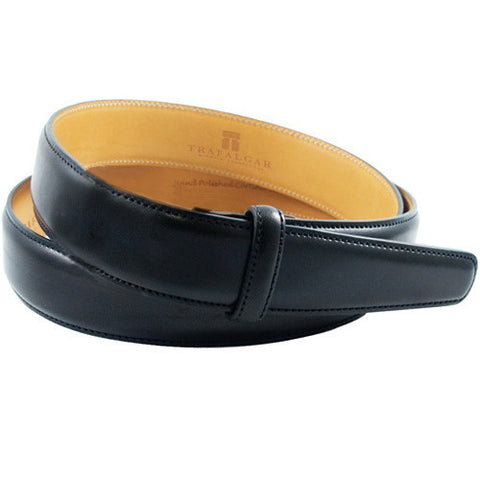 Cortina Leather, 1 Inch Belt Strap, Black
