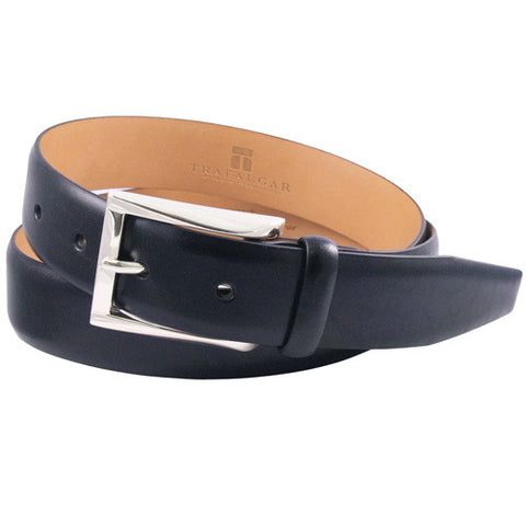 Broderick Leather Belt, Black