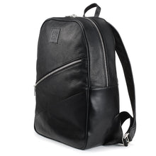 Load image into Gallery viewer, Tusting Clifton Leather Backpack in Black-Business Bags-Sterling-and-Burke