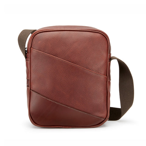 Nimrod Leather Cross-Body Bag | Available in Various Colors | Tusting | Made in England-Travel Bags-Sterling-and-Burke