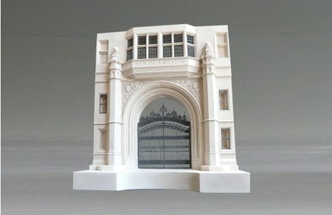 Phelps Gate- Yale University Sculpture | Custom Phelps Gate- Yale University Plaster Model | Extraordinary Quality and Detail | Made in England | Timothy Richards