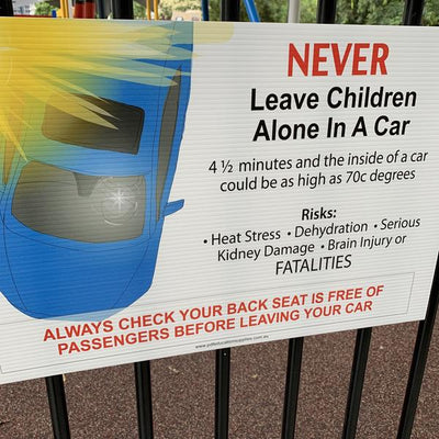 Dangers of Leaving Children in Cars