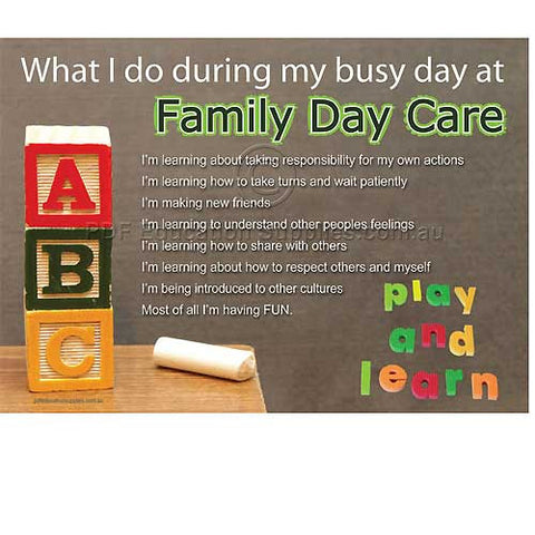 Family Day Care Resources