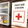 Corflute Sign : First Aid Station