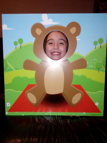 Teddy Bears Photo Booth Frame