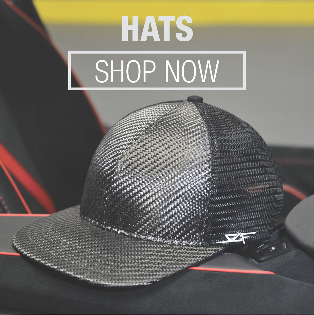 Real Carbon Fiber Hats