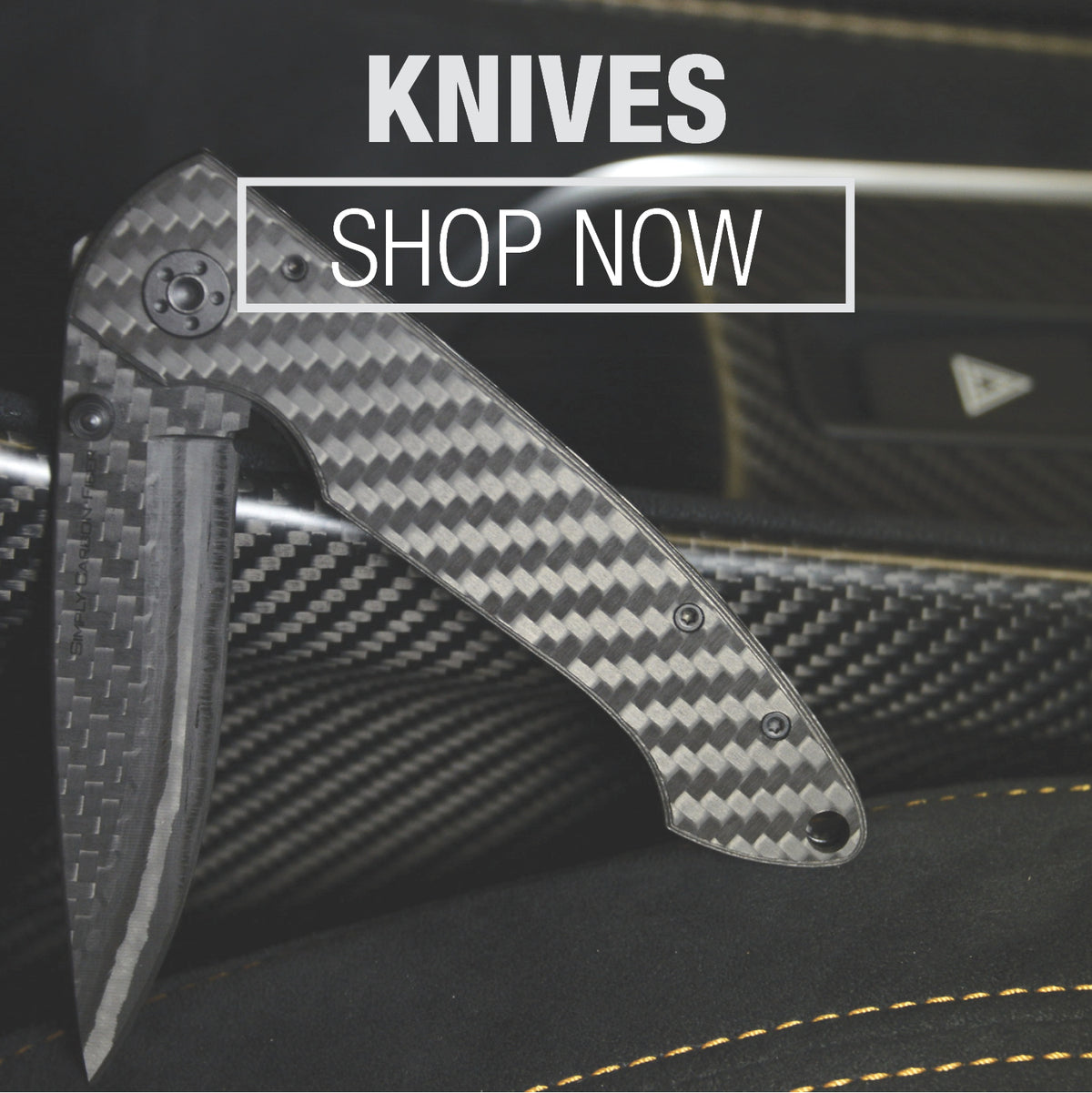 REAL CARBON FIBER KNIVES