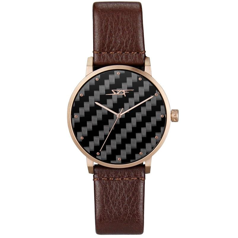 ●BOURBON● ALPHA Series Carbon Fiber Watch